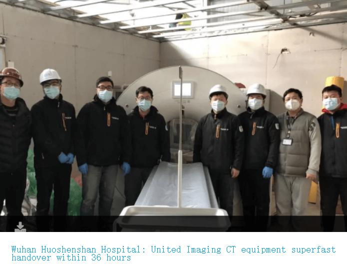 United Imaging Urgent Delivery Wuhan Hospital en_01